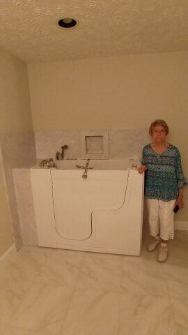 Hydrotherapy Tub Installed in Deatsville, AL (6)