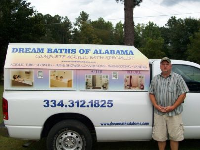 Dream Baths of Alabama, LLC handyman serving the Millbrook Alabama area.