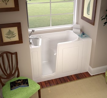 Removed Garden Tub & Replaced with a Walk in Tub in Bessemer, AL