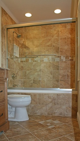 Small Bathroom Ideas with Beautiful Tile Work
