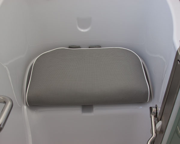 Seat Riser and Head Rest for any Walk in Tub and Standard Bath