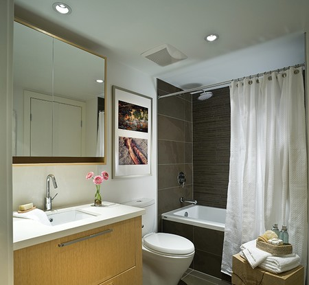 Small Bathroom Remodel and Lighting