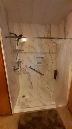 Walk-in Shower Installation in Atmore, AL ( same house, both bathrooms) (2)